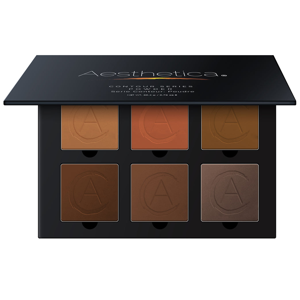Aesthetica Pressed Powder Contour Kit - Tan to Dark