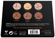 Aesthetica Round Pressed Powder Contour Kit