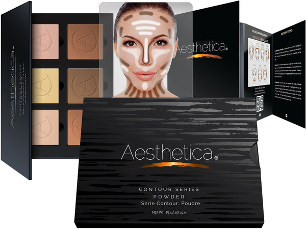 Aesthetica Pressed Powder Contour Kit