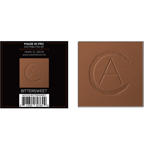 Aesthetica Square Replacement Pan - Tan to Dark Powder