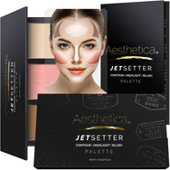 Aesthetica Jetsetter Palette Contour, Highlight and Blush