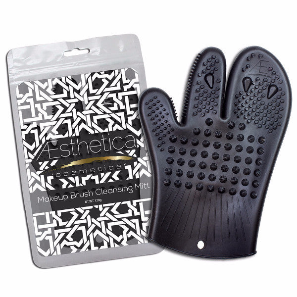 Aesthetica Makeup Brush Cleansing Mitt
