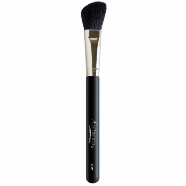 Aesthetica Pro Brush Series: Large Angled Powder Contour Makeup Brush #C21