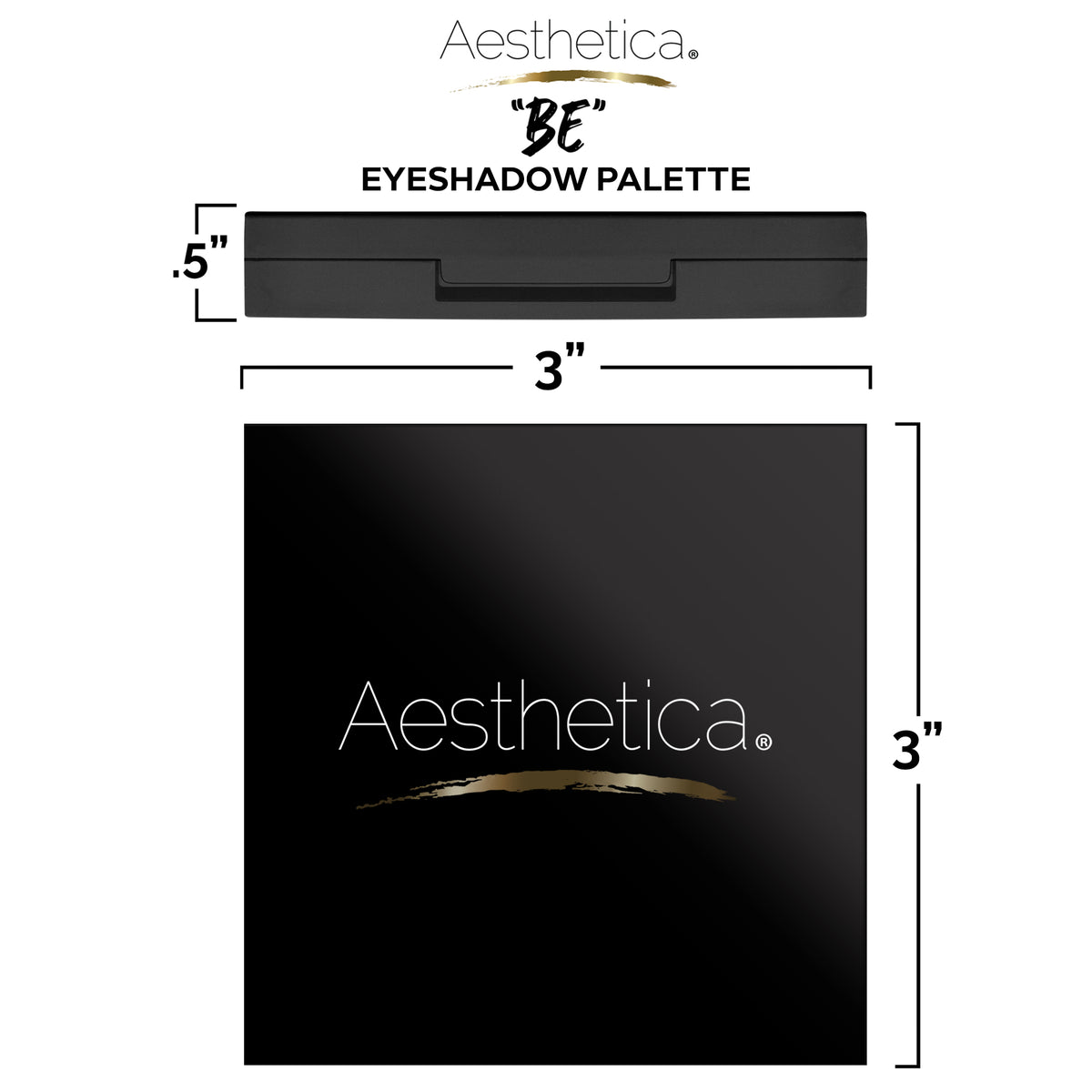 "Aesthetica ""BE"" Eyeshadow Palette"