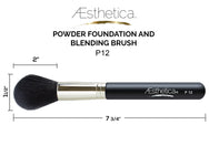 Aesthetica Pro Brush Series: Professional Powder Makeup Brush #P12