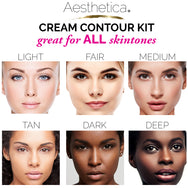 Aesthetica Cream Contour Kit