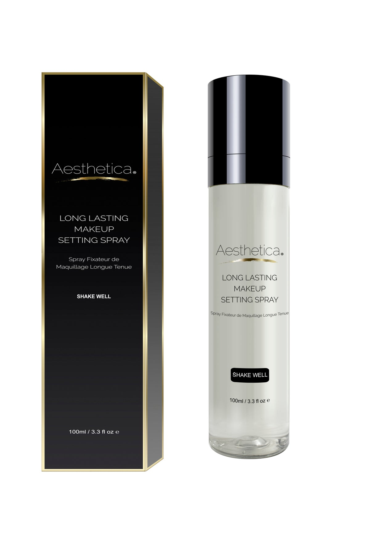Aesthetica Long Lasting Makeup Setting Spray