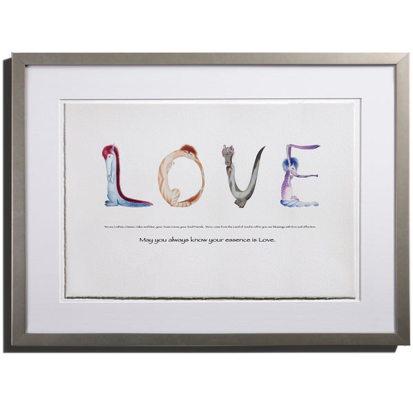"Anam Caras ""Love"" print by Colleen Stratton - Inspiring Words Collection"