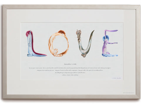 Love Personalized - white