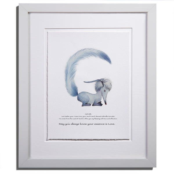 Anam Caras Personalized Gaelan print by Colleen Stratton - Anamabet Collection