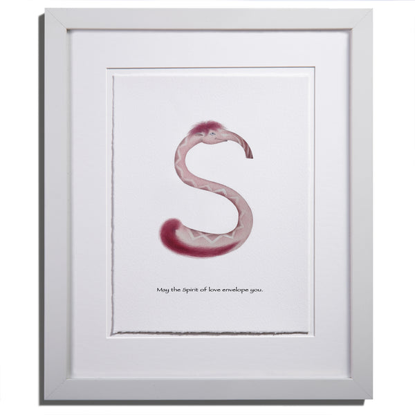 "Anam Caras ""Shanti"" print by Colleen Stratton - Anamabet Collection"