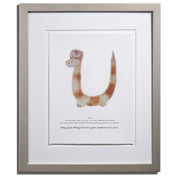 "Anam Caras ""Uma"" personalized print by Colleen Stratton - Anamabet Collection"