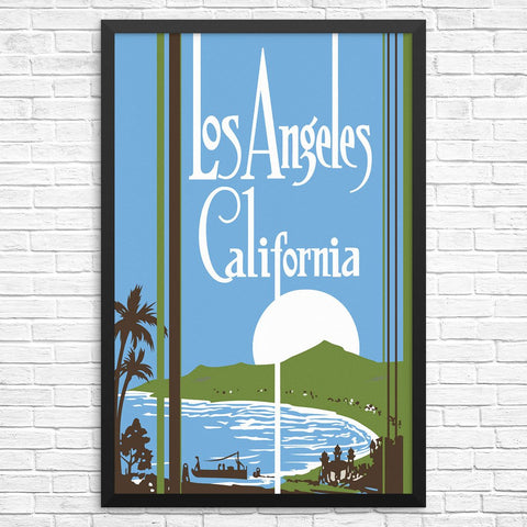 Los Angeles California Snset Print