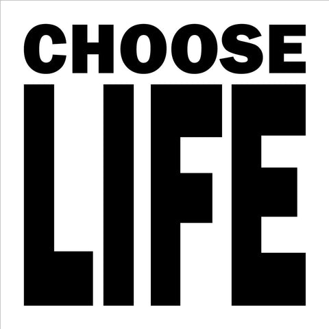 George Michael Choose Life Magnet