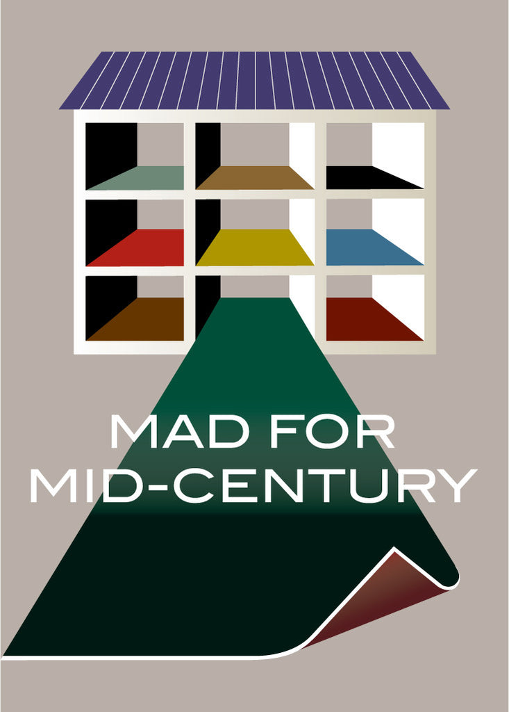 Mad For Mid Century Modern Magnet