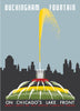 Chicago Buckingham Fountain Poster Magnet