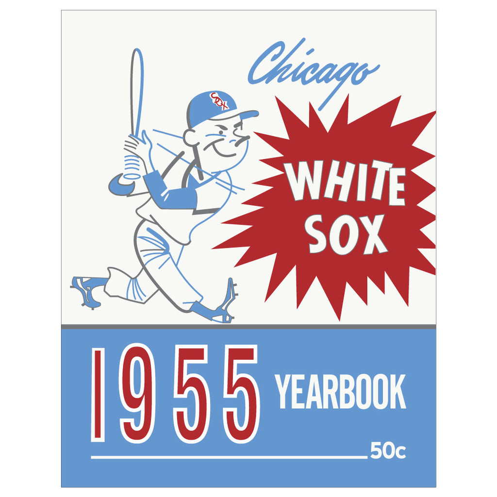 Chicago White Sox 1955 Yearbook Cover Magnet & Greeting Card