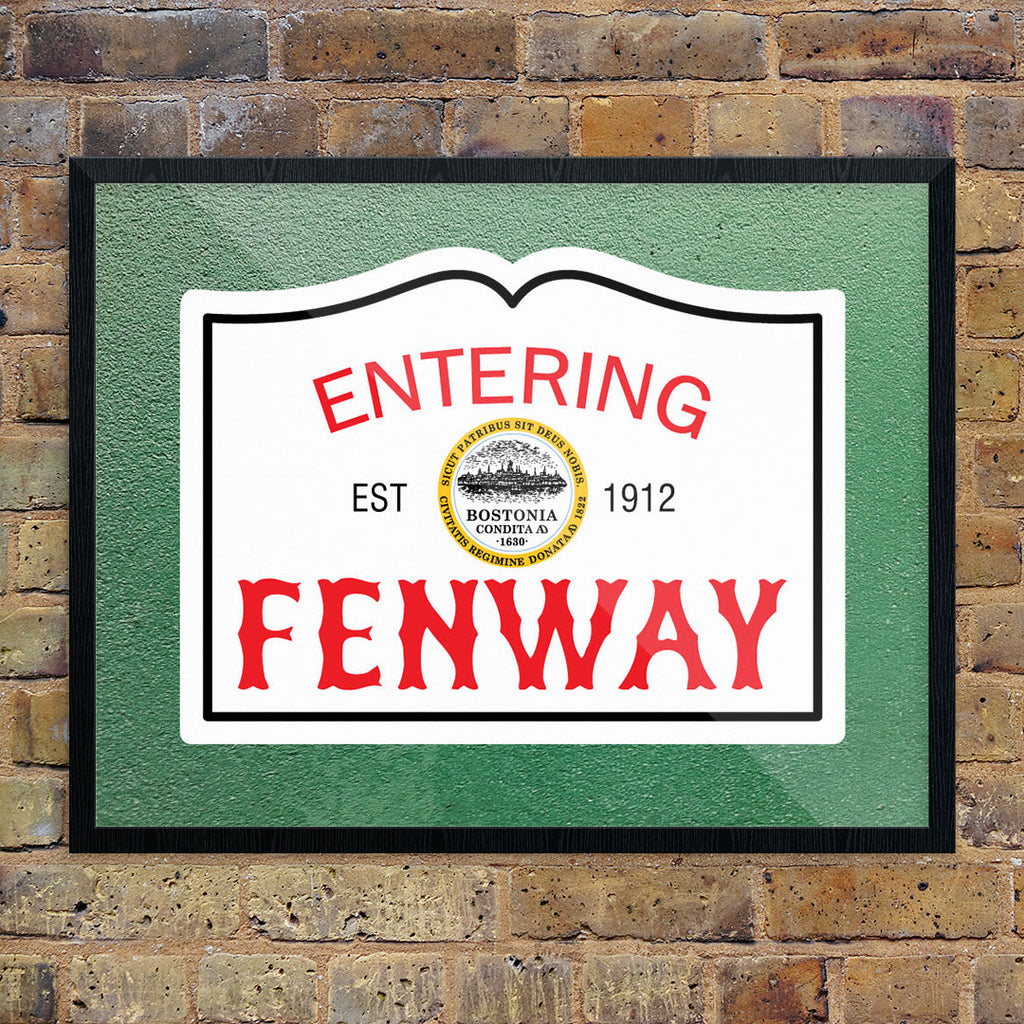 Entering Fenway 11 x 14 Print