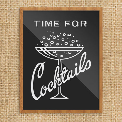 Time for Cocktails 11 x 14 Print