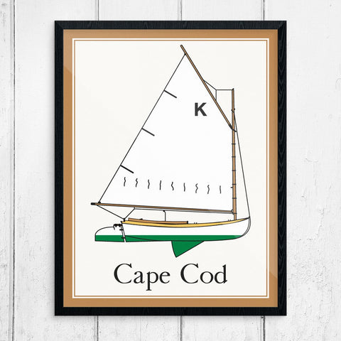 Cape Cod Beetle Cat Print