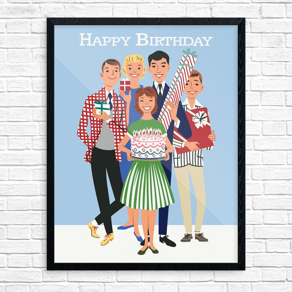 Happy Birthday From Your Friends Prints
