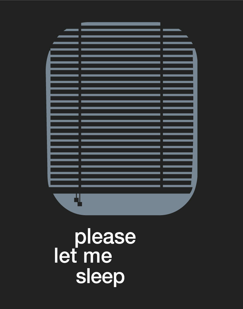 Please Let Me Sleep Print Magnet