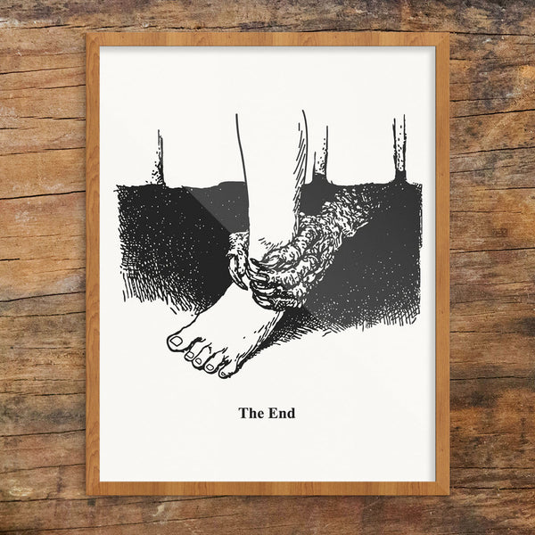 The End 11 x 14 Print