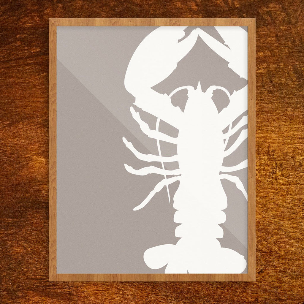 Lobster Silhouette Print