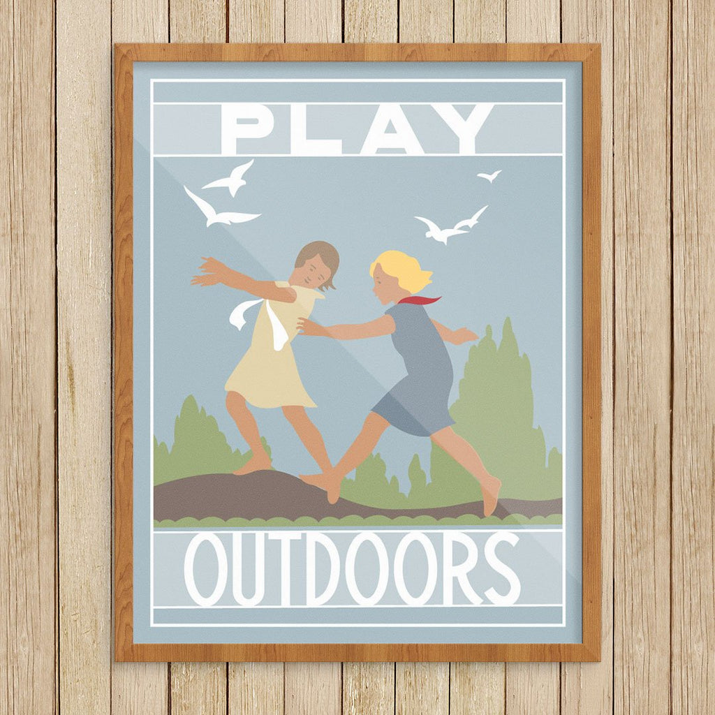 Play Outdoors Print