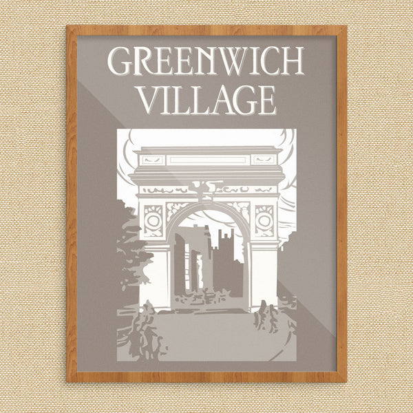 Greenwich Village Washington Square 11 x 14 Print