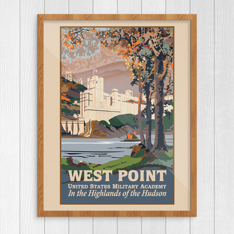 West Point United States Military Academy 11 x 14 Print