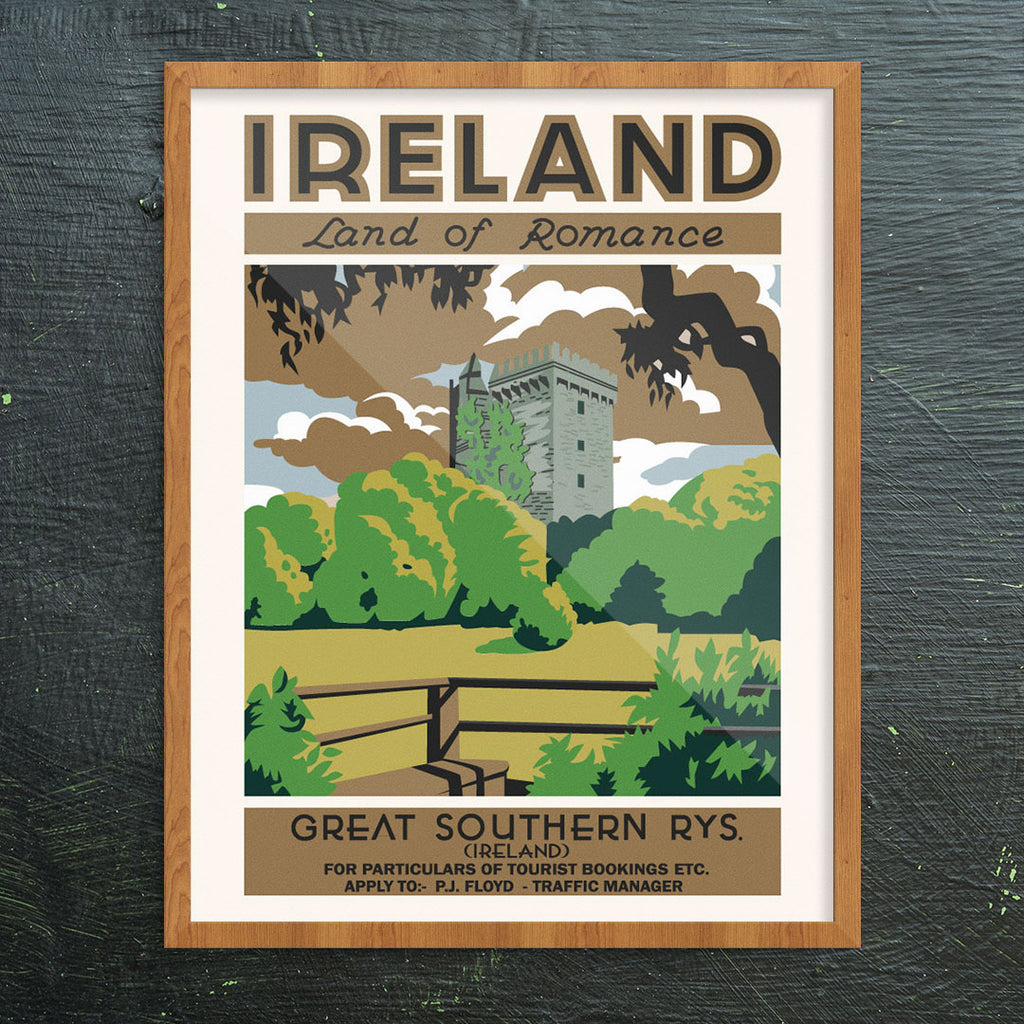 Ireland Land of Romance 11 x 14 Print