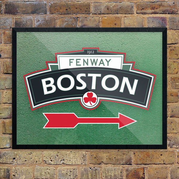 Boston Fenway Arch 11 x 14 Print
