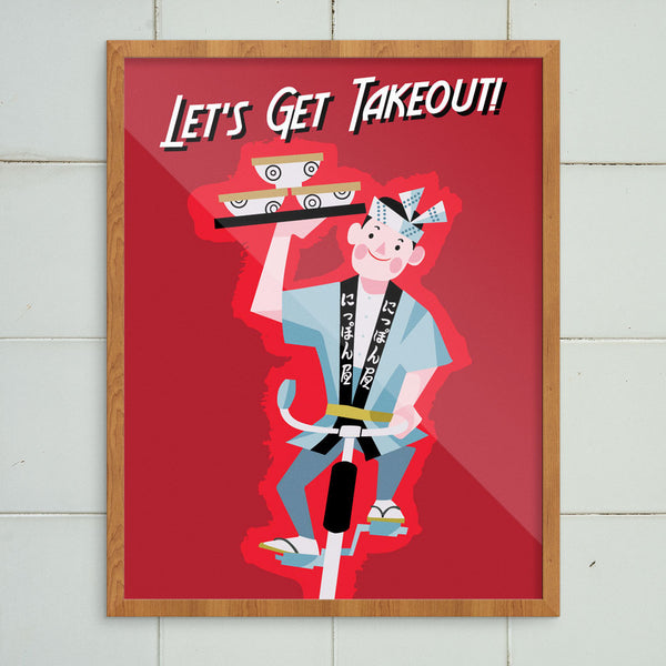 Let's Get Takeout! 11 x 14 Print