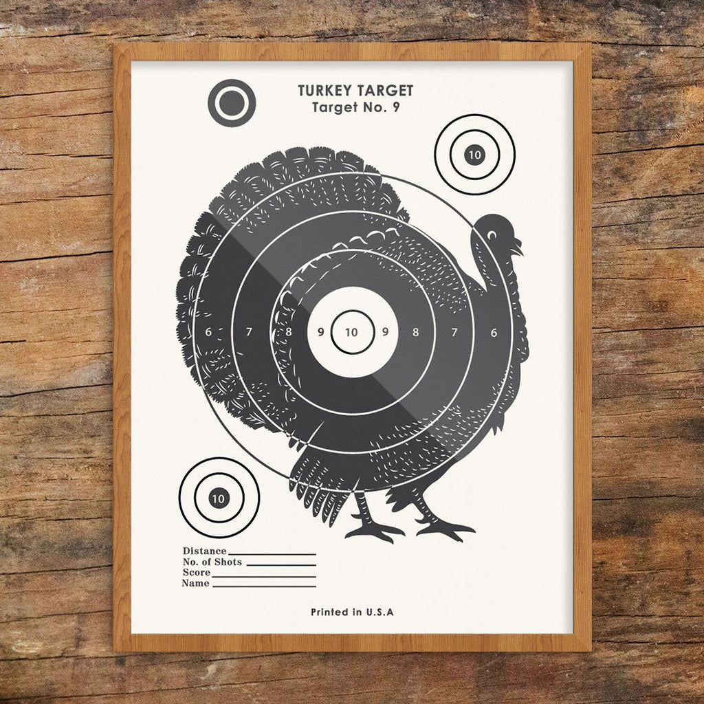 photo about Printable Turkey Target known as Common Turkey Taking pictures Aim Print