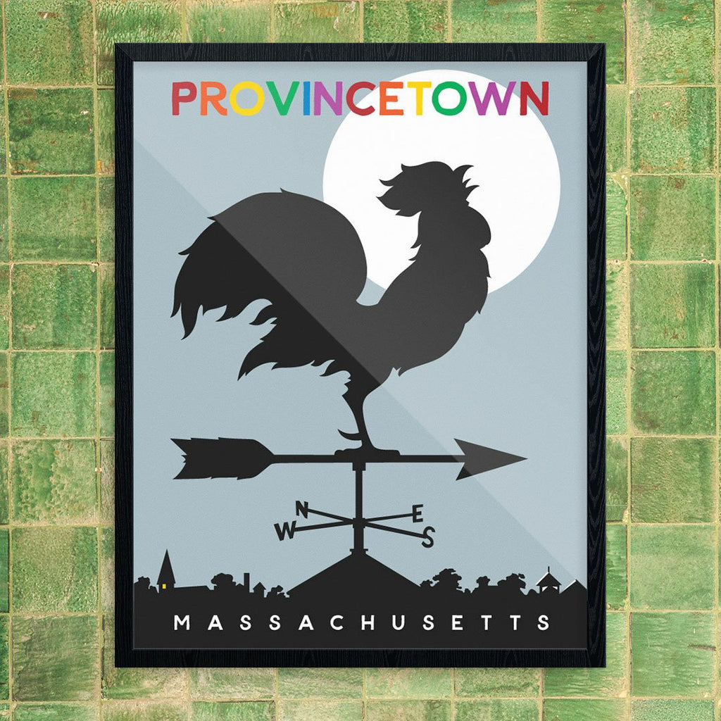 Morning Provincetown Rooster 11 x 14 Print