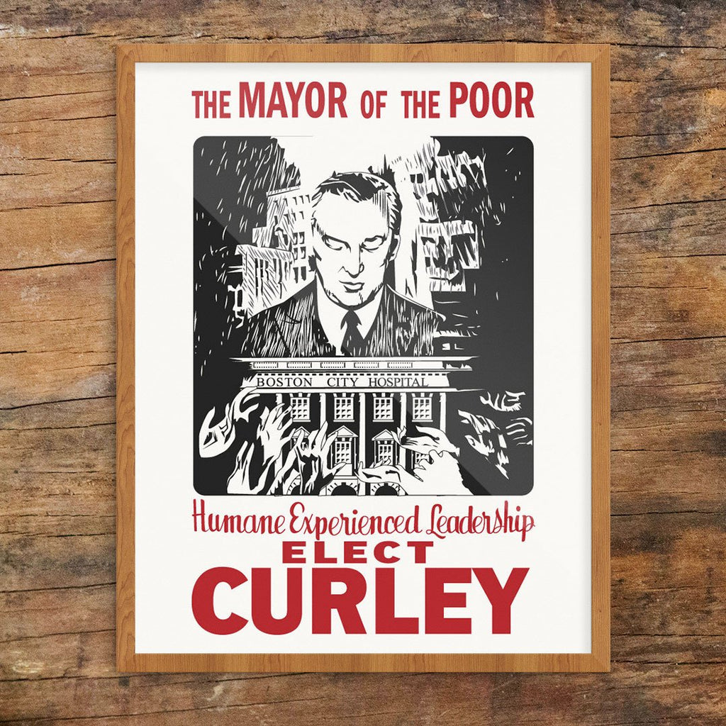 Elect James Michael Curley The Mayor of the Poor Print