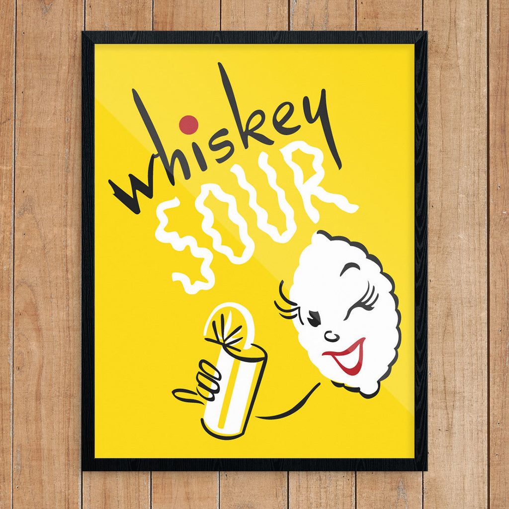 Whiskey Sour 11 x 14 Print
