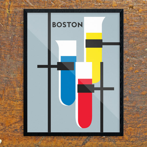 Boston Test Tubes 11 x 14 Print