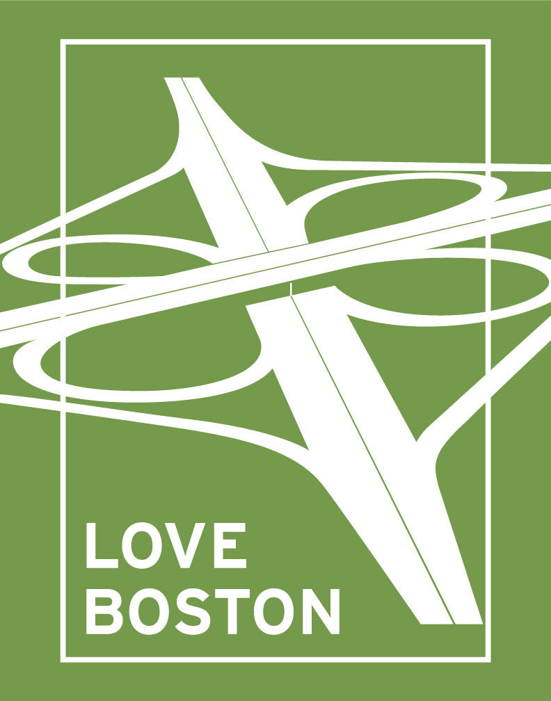 Love Boston Interchange Magnet