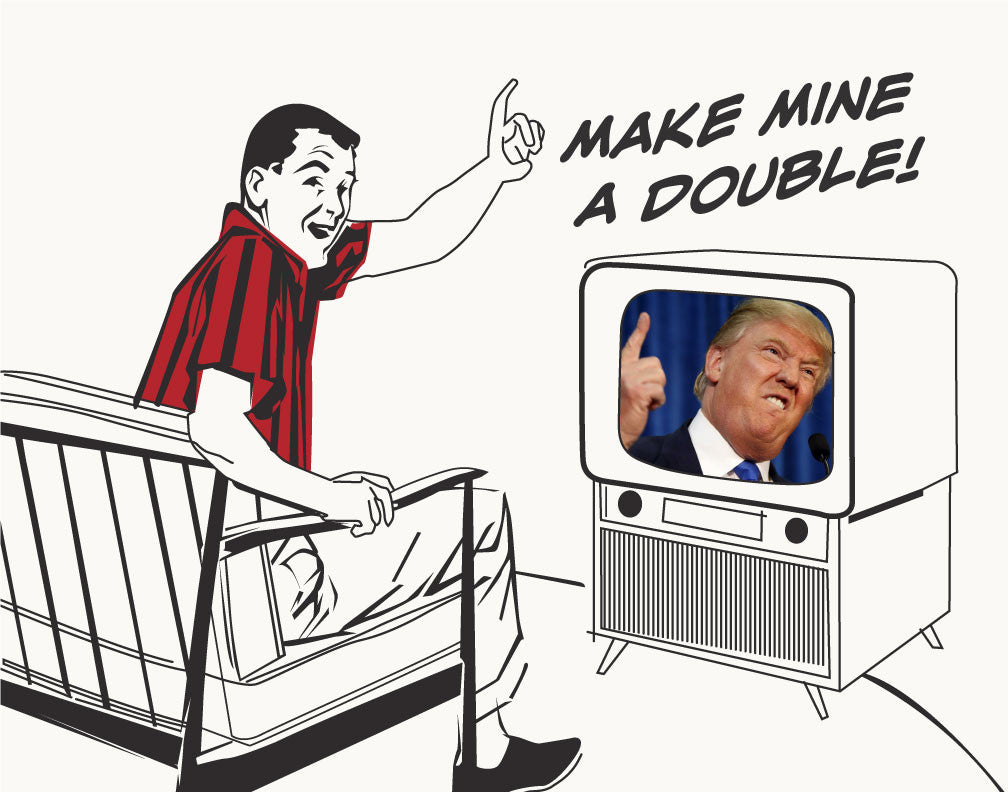 Trump Make Mine A Double Magnet