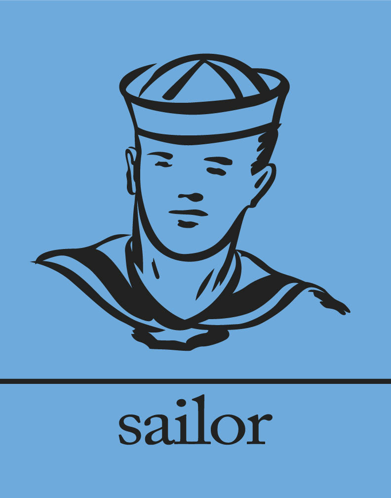 Hey Sailor Magnet