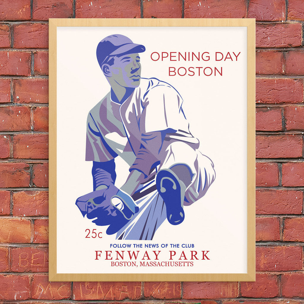 Opening Day Fenway Park Boston 11 x 14 Print