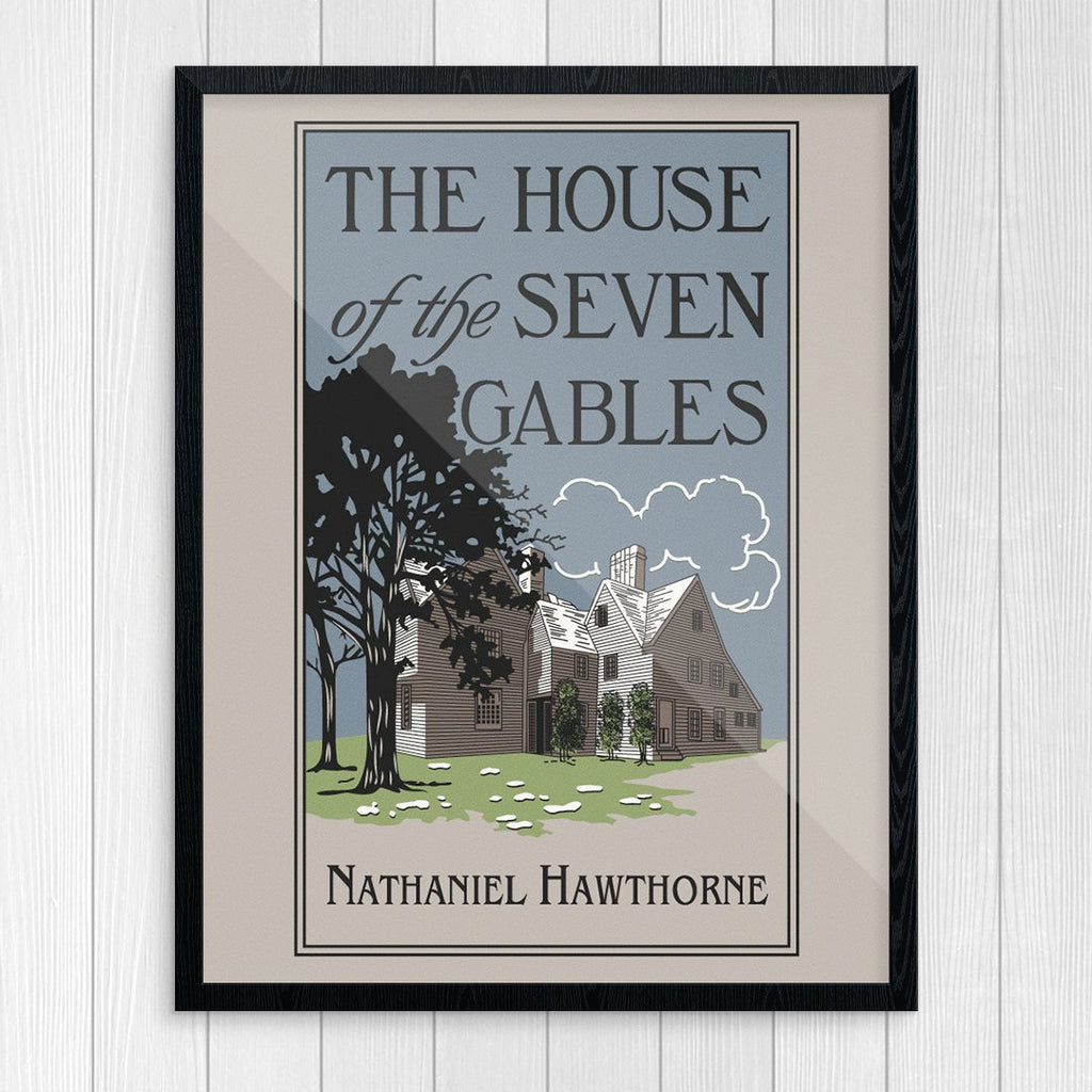 The House of the Seven Gables Hawthorne Print