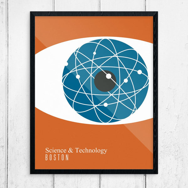 Science & Technology Boston Print