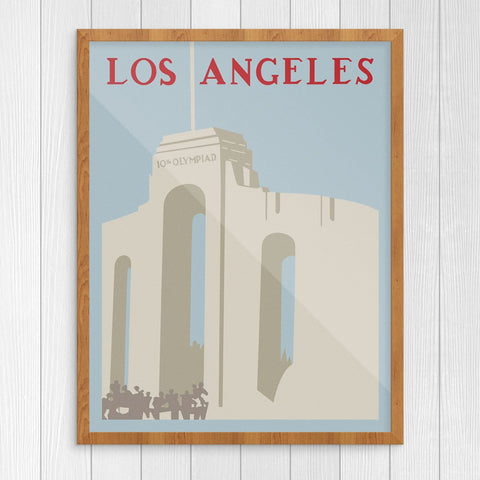 Los Angeles Coliseum Print