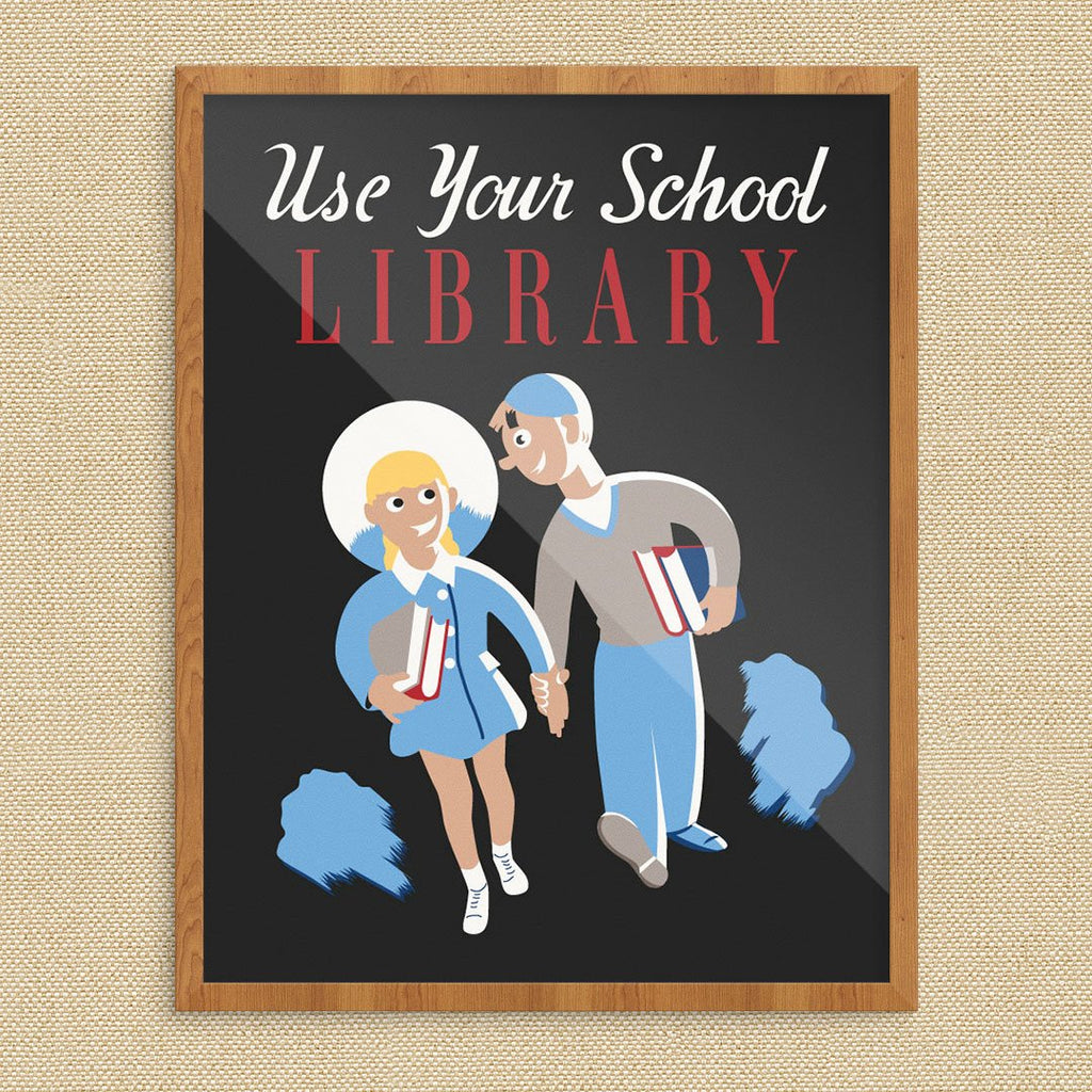 Use Your School Library Print