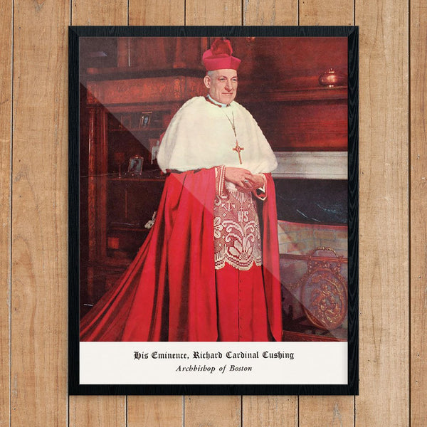 Boston's Archbishop Richard Cardinal Cushing Portrait