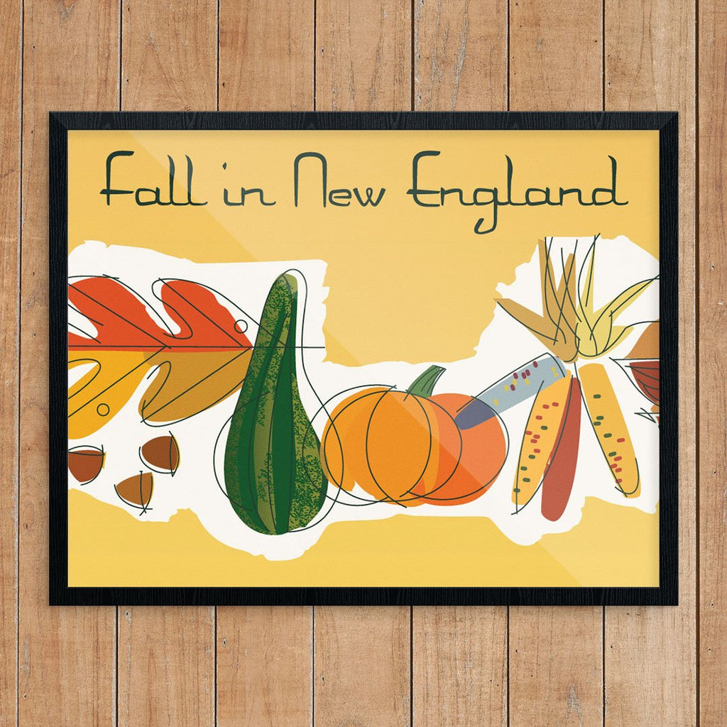 Fall in New England Print