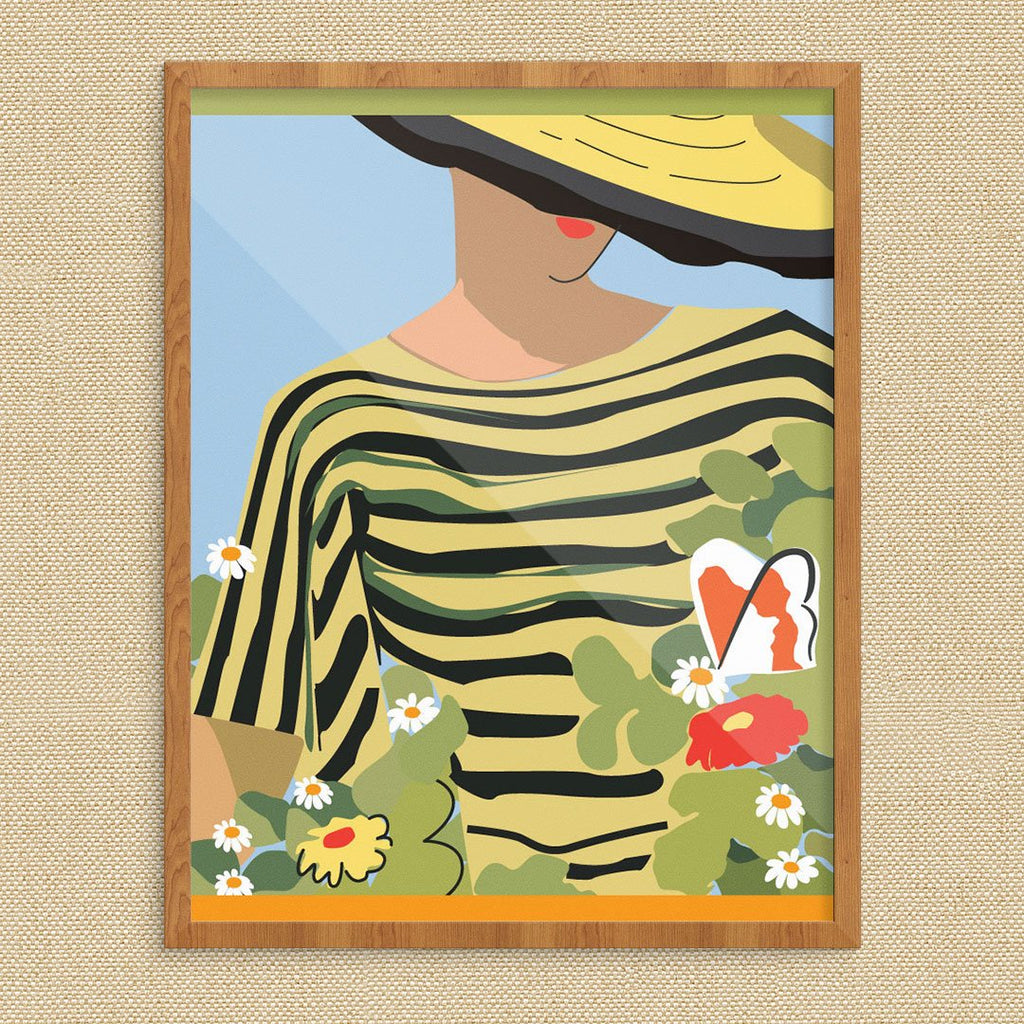 Stylish Gardener Print